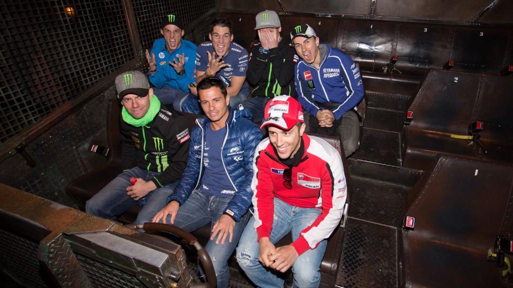 MotoGP™ riders visit Disneyland Paris