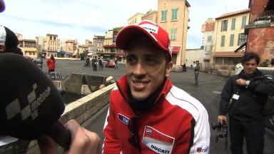 Disneyland Paris - Interview - Andrea Dovizioso