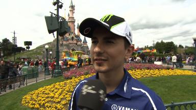 Disneyland Paris - Interview - Jorge Lorenzo