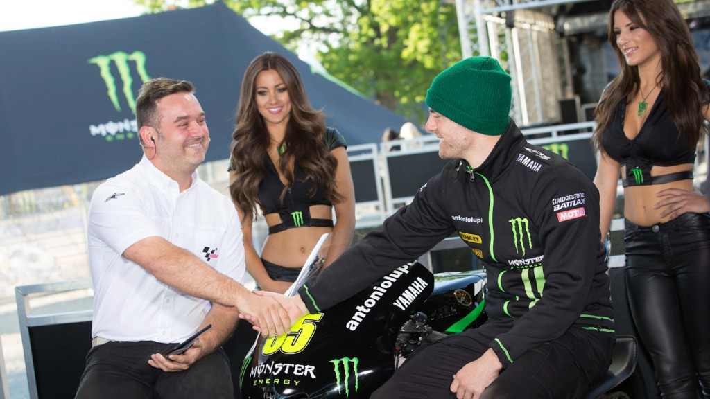 Cal Crutchlow, Monster Yamaha Tech 3, Monster Energy GP de France Pre Event