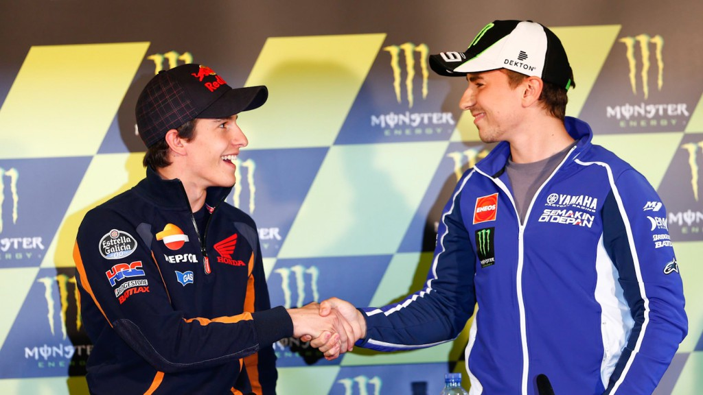 Marc Marquez, Jorge Lorenzo, Monster Energy GP de France Press Conference