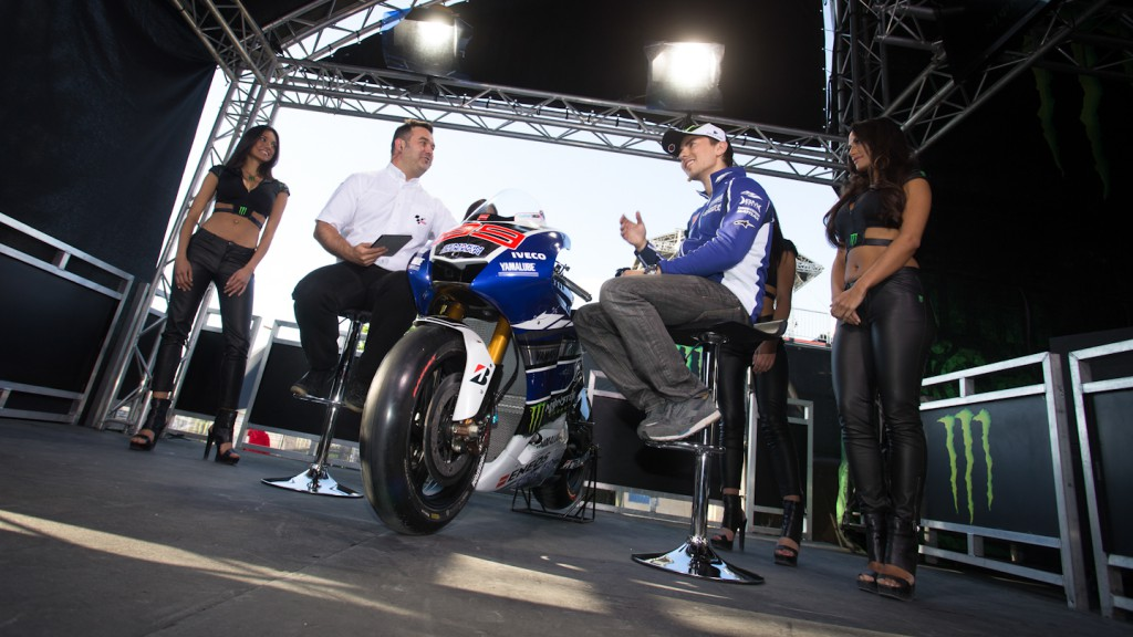 Jorge Lorenzo, Yamaha Factory Racing, Monster Energy GP de France Pre Event