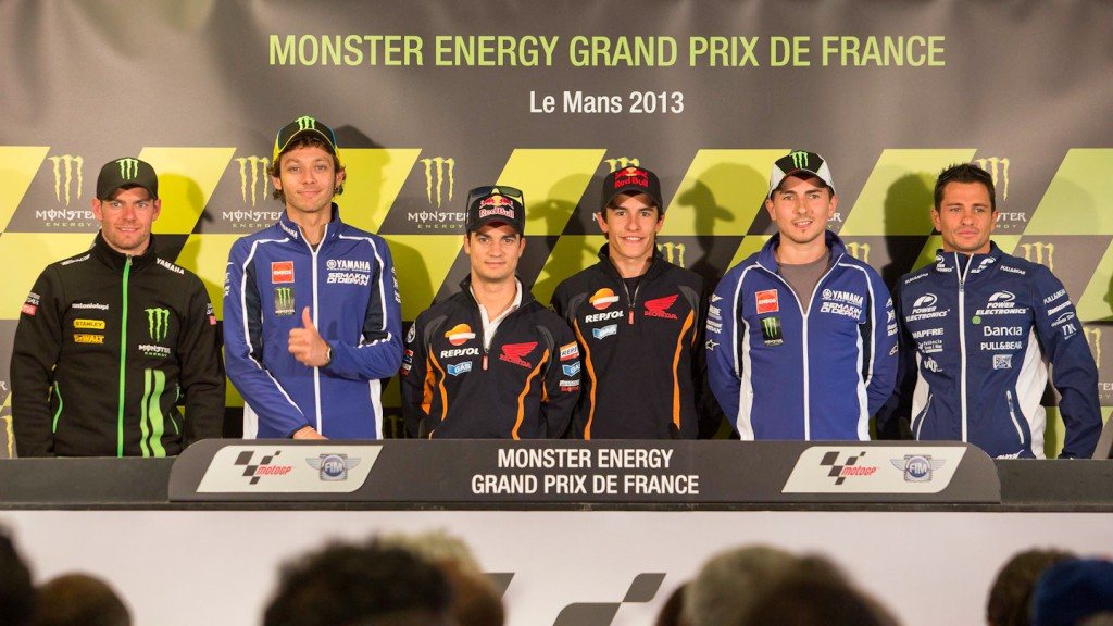 Monster Energy GP de France Press Conference