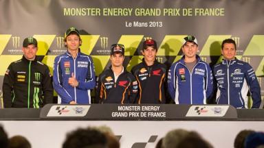 Monster Energy GP de France Press Conference