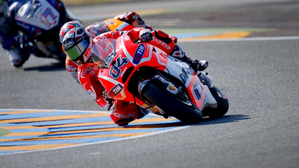 Andrea Dovizioso, Ducati Team, Le Mans FP2