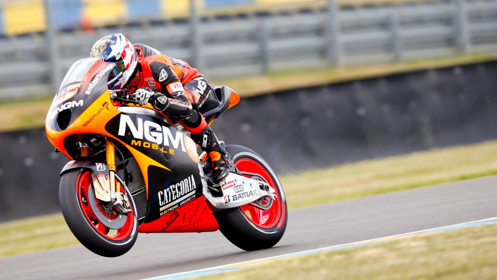 Colin Edwards, NGM Mobile Forward Racing, le Mans FP2