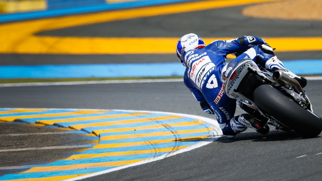 Randy de Puniet, Power Electronics Aspar, Le Mans FP2