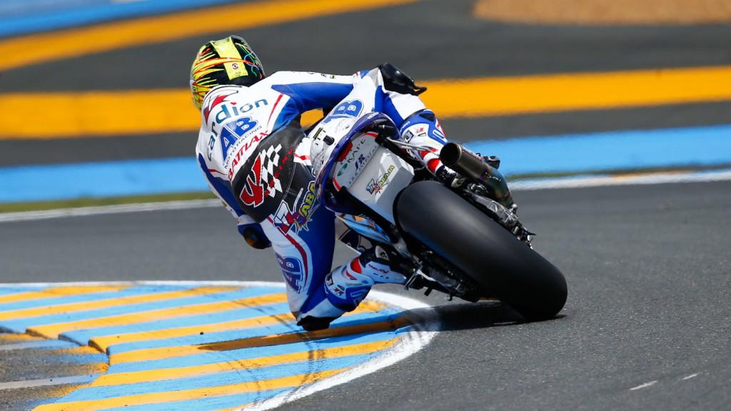 Karel Abraham, Cardion AB Motoracing, Le Mans FP2