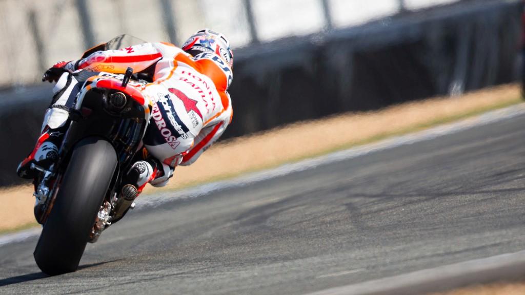 Dani Pedrosa, Repsol Honda Team, Le Mans FP2