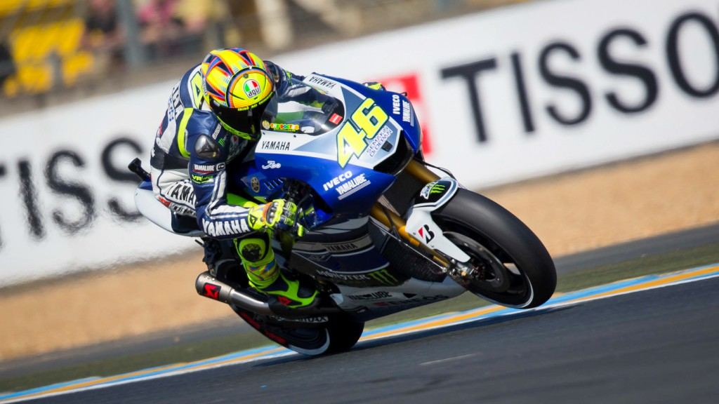 Valentino Rossi, Yamaha Factory Racing, Le Mans FP2