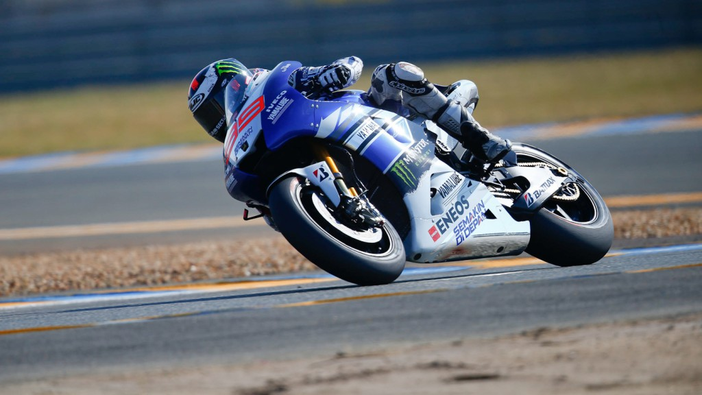 Jorge Lorenzo, Yamaha Factory Racing, Le Mans FP2