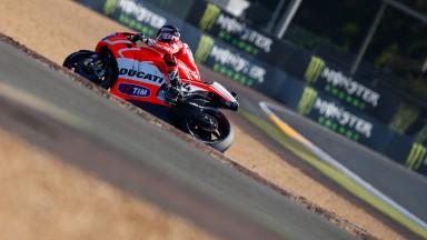 Andrea Dovizioso, Ducati Team, Le Mans Q2