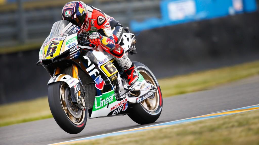 Stefan Bradl, LCR Hona MotoGP, Le Mans Q2