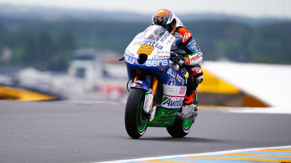motogp.com · Hector Barbera, Avintia Blusens, Le Mans FP4