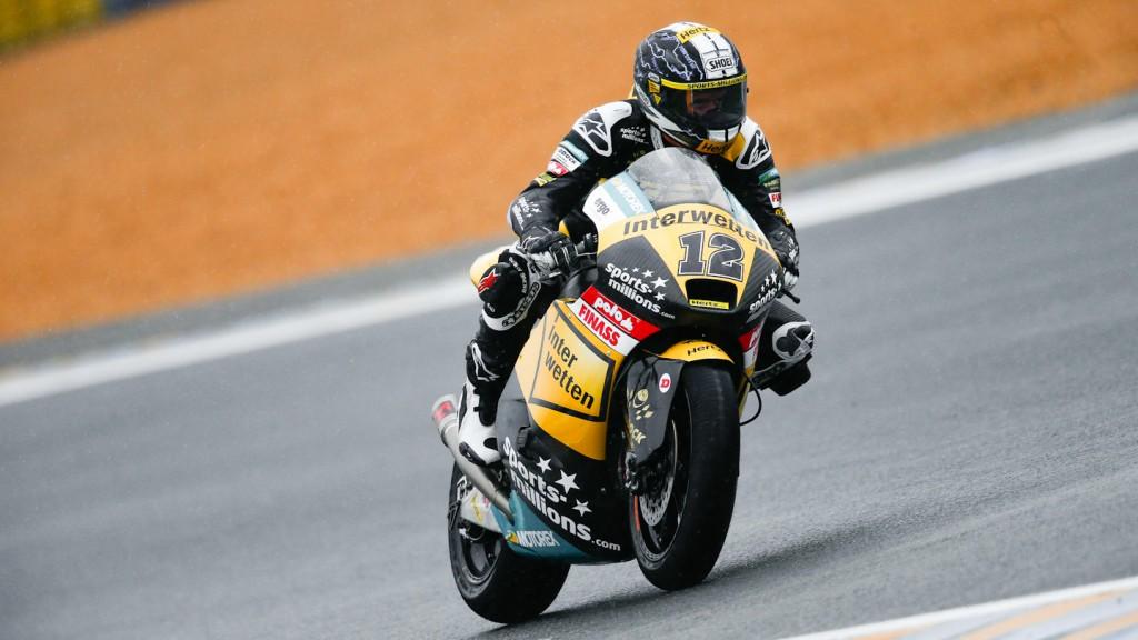 Thomas Luthi, Interwetten Paddock Moto2 Racing, Le Mans QP