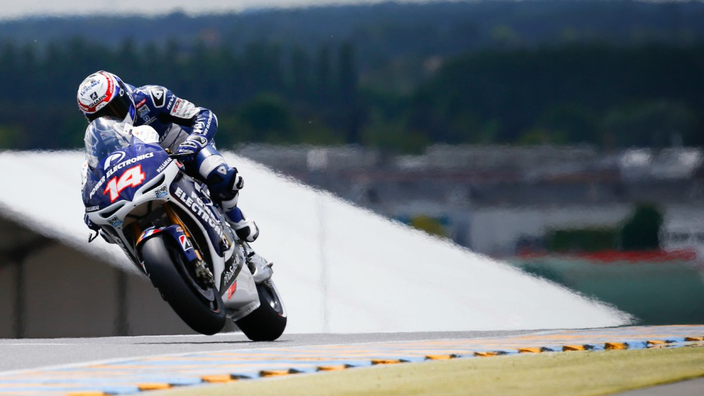 Randy de Puniet, Power Electronis Aspar, Le Mans Q2