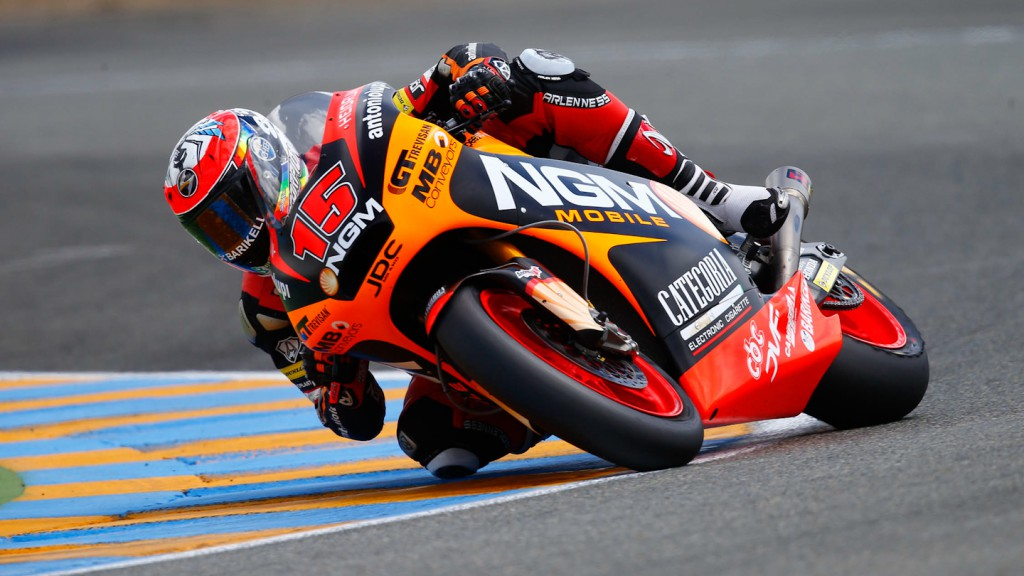 Alex de Angelis, NGM Mobile Forward Racing, Le Mans QP