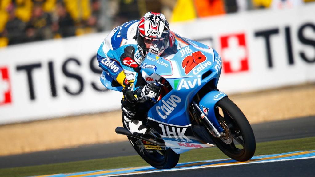 Maverick Viñales, Team Calvo, Le Mans FP3