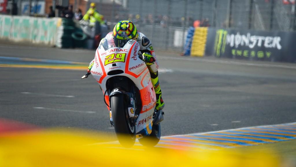 Andrea Iannone, Pramac Racing Team, Le Mans FP4