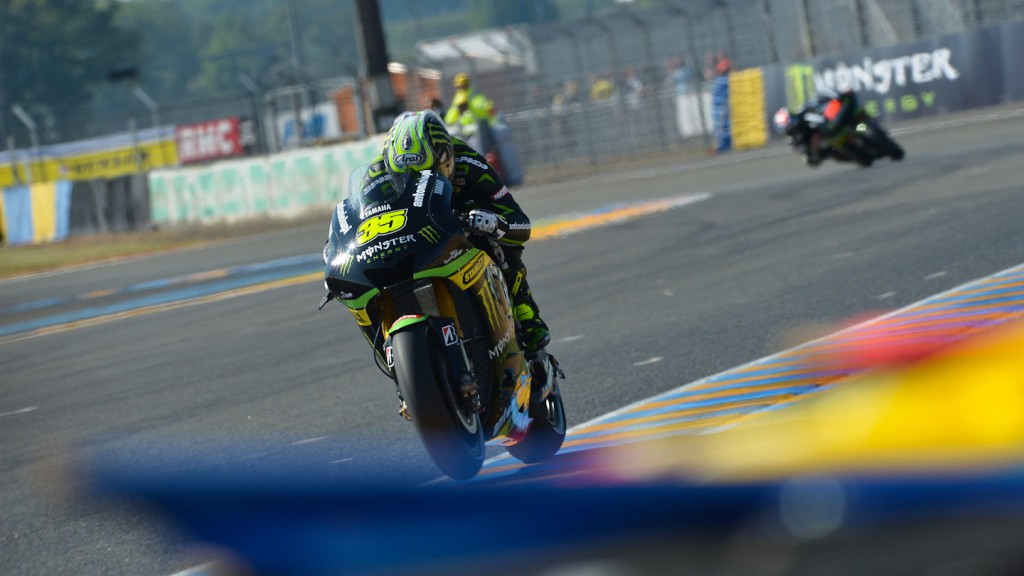 Cal Crutchlow, Monster Yamaha Tech 3, Le Mans Q2