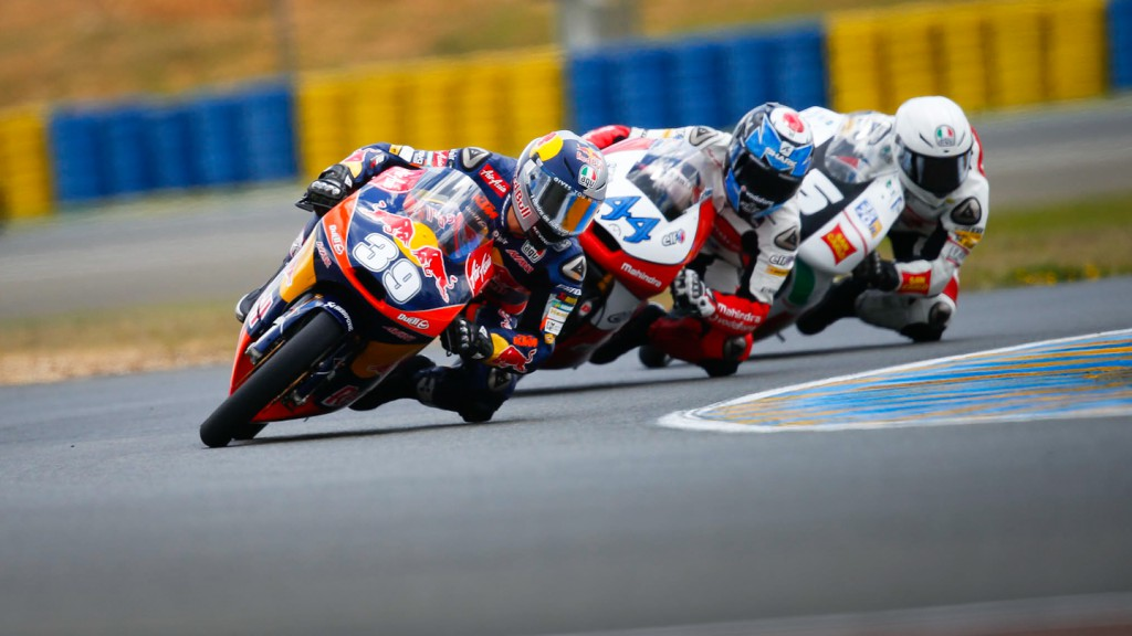 Luis Salom, Red Bull KTM Ajo, Le Mans QP