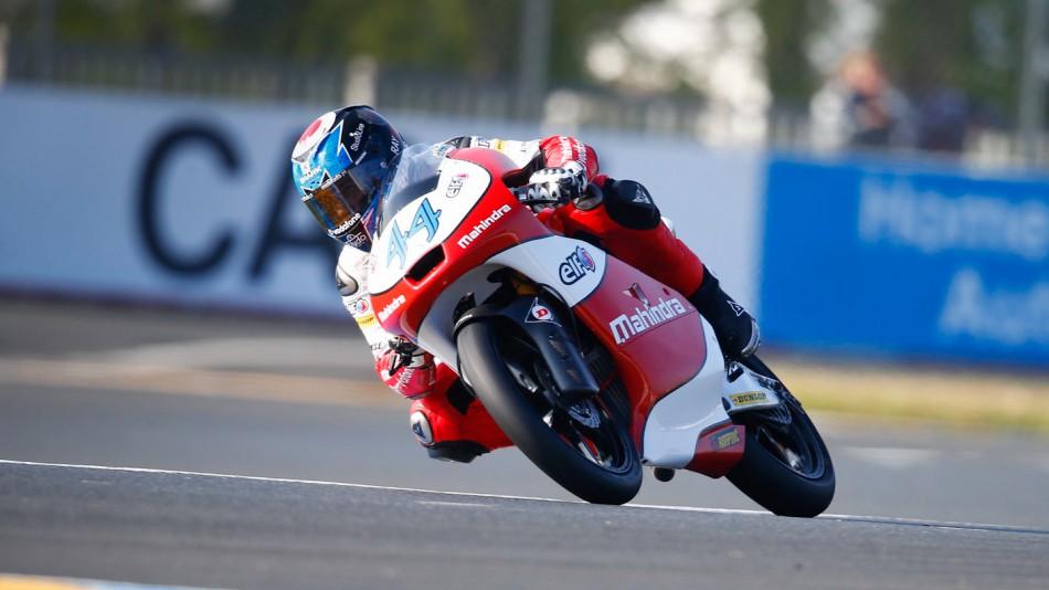 motogp.com · Miguel Oliveira, Mahindra Racing, Le Mans FP3