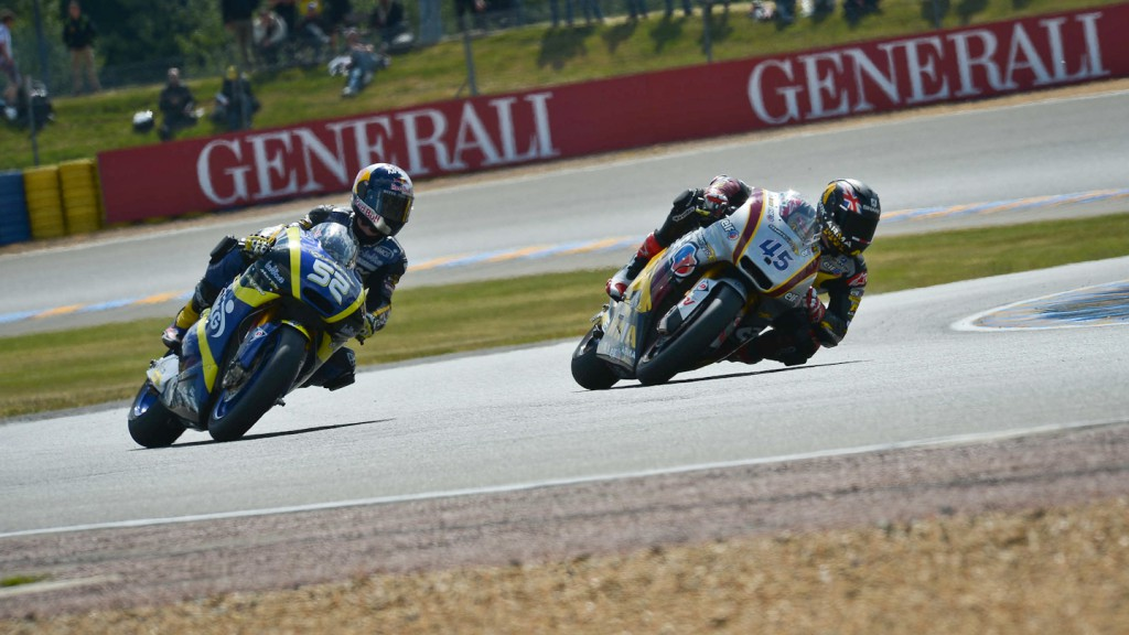 Scott Redding, Danny Kent, Marc VDS Racing Team, Tech 3, Le Mans QP
