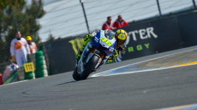 Valentino Rossi, Yamaha Factory Racing, Le Mans Q2