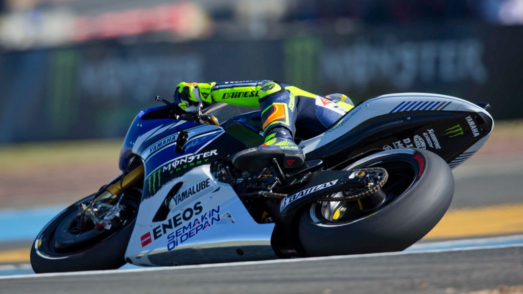 Valentino Rossi, Yamaha Factory Racing, Le Mans FP3