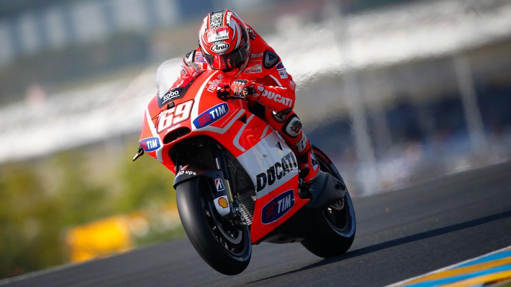 Nicky Hayden, Ducati Team, Le Mans Q2