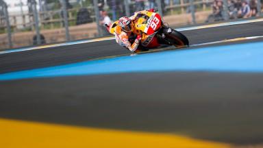 Marc Marquez, Repsol Honda Team, Le Mans Q2