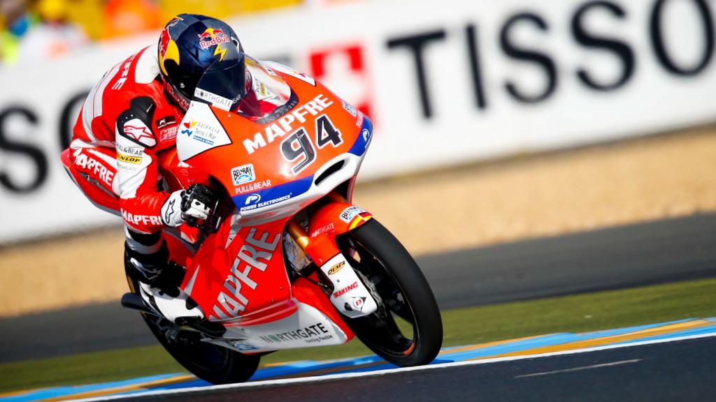 Jonas Folger, Mapfre Aspar Team Moto3, Le Mans FP3