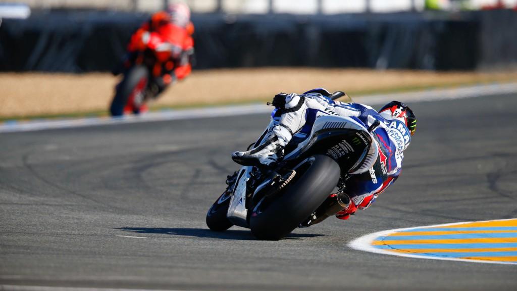 Jorge Lorenzo, Yamaha Factory Racing, Le Mans FP3
