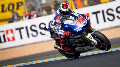 Jorge Lorenzo, Yamaha Factory Racing, Le Mans Q2