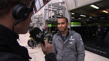 Lewis Hamilton's first impressions of MotoGP™