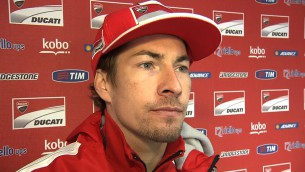 Hayden pleasantly surprised by Ducati performance