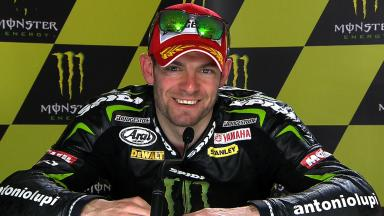 Le Mans 2013 - MotoGP - RACE - Interview - Cal Crutchlow