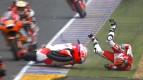 Le Mans 2013 - Moto2 - RACE - Action - Jordi Torres - Crash