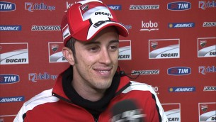 Dovizioso: 'We have a really good bike in the wet'
