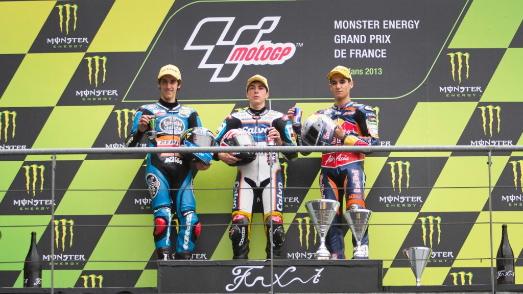 Rins, Viñales, Salom, Le Mans RAC