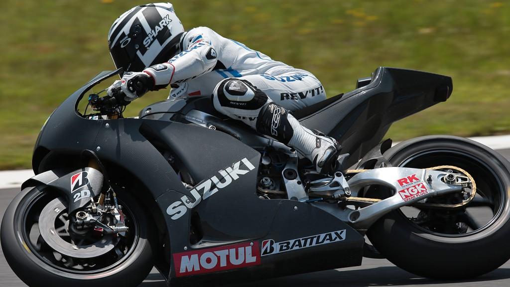 Randy De Puniet, Suzuki MotoGP Test, Motegi © Shigeo Kibiki