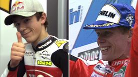 Philipp Oettl claims a podium finish at the #IndyGP, over 19 years after his father Peter's win at Mugello....