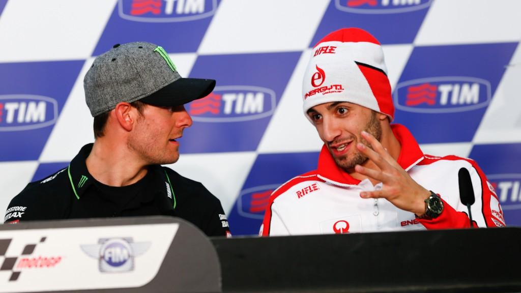 Cal Crutchlow, Andrea Iannone, Gran Premio D´Italia TIM Press Conference