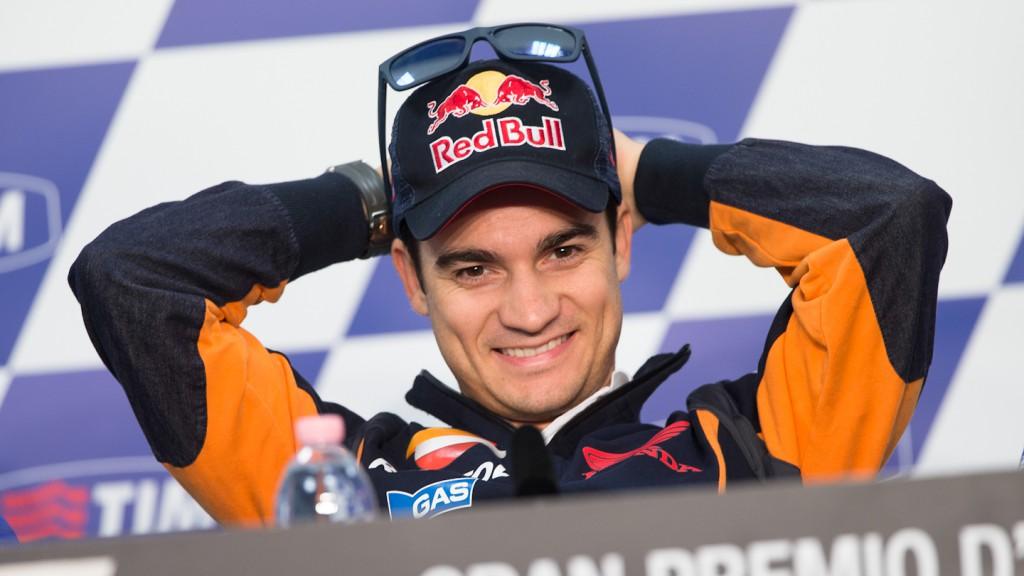 Dani Pedrosa, Gran Premio D´Italia TIM Press Conference