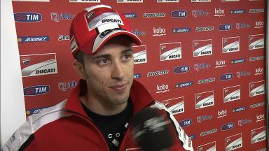 Dovizioso highly annoyed by neck injury from crash