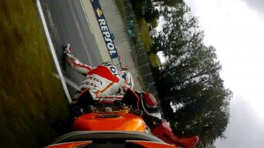 OnBoard: Marquez' FP1 slip-up