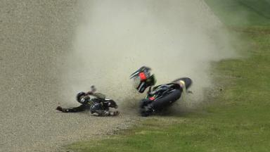 Mugello 2013 - MotoGP - FP2 - Action - Bradley Smith - crash