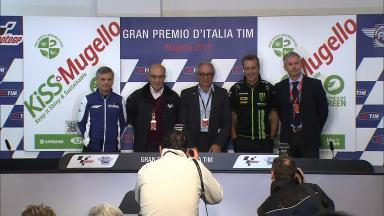 Full KISS Mugello press conference