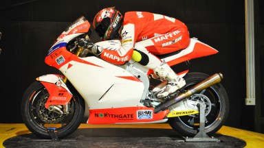 Mapfre Aspar Team Moto2 on wind tunnel