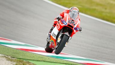 Andrea Dovizioso, Ducati Team, Mugello Q2